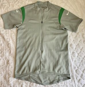 NIKE SPHERE DRY Men's Large Pullover Fitted Cycling Biking Jersey Shirt