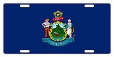 MAINE State Flag  Custom License Plate State Emblem ORIGINAL Version