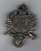LONDON RIFLE BRIGADE. CADETS KC..CAP BADGE  IN VG. COND.SEE PIC