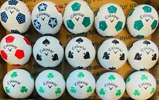 New listing Fifteen (15) Callaway Chromesoft Truvis used golf balls *RARE ASSORTMENT*