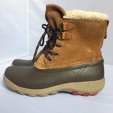 Cougar Originals Maple Sugar Winter Boots Size 6 Oak Suede Shearling Snow Duck