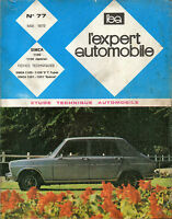 RTA revue technique l'expert automobile n ° 77 SIMCA 1100 special