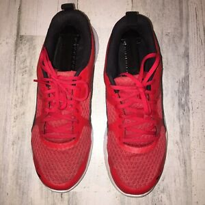 puma shoes 36526808 red mesh running tennis preowned great condition size9 (A1)