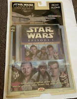 Star Wars - Episode 1 The Phantom Menace, 24 Page Book And CD - Brand New