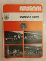 1973/74  Arsenal v Newcastle United 1st January - Cup Final Voucher intact