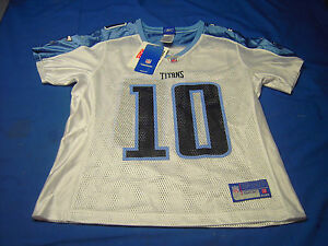 Tennessee Titans Vince Young 10 Jersey Womens Size Medium