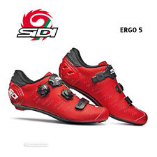 NEW 2020 Sidi ERGO 5 Road Cycling Shoes : MATTE RED/BLACK