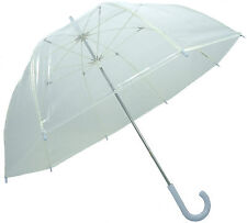Clear Dome Birdcage Umbrella