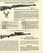1967 Print Ad of Remington Model 600 Magnum Bolt Action Rifle