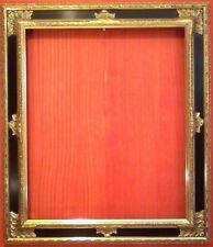 "8 X 10 CLASSIC GOLD 4/"" WIDE GOLD LEAF FLORAL CARVED STANDARD PICTURE FRAME"
