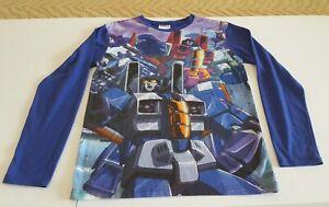 Transformers Rare Long Sleeve Graphic T-Shirt Size:Small Hasbro 2014 Tee
