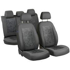CAR SEAT COVERS FOR SAAB 9-3 9.3 93 FULL SET GREY VELOURS
