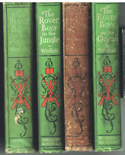 Lot of 4 Rover Boys Series 1899 Nice condition! Great Children's Books!