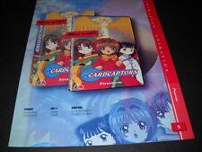 Cardcaptors colorful seldom seen Vintage Anime Promo Ad mint condition