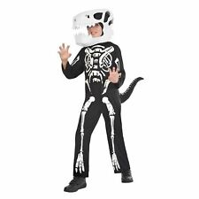 Halloween Boys Skeleton Dinosaur Fancy Dress Up Costume - Age 10-12 Years