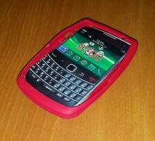 New Unbranded Blackberry Bold 9700 Red Silicone Rubber Gel Case