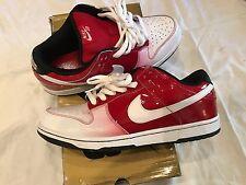 Nike SB dunk low premium ET kuwahara varsity red/white size 11.5