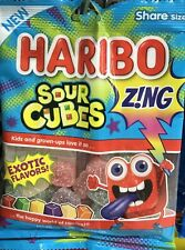 Haribo Sour Cubes Candy 5 Oz Bag