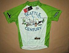 Seattle Century Men's Cycling Jersey Size XL Primal Washington Race Polyester