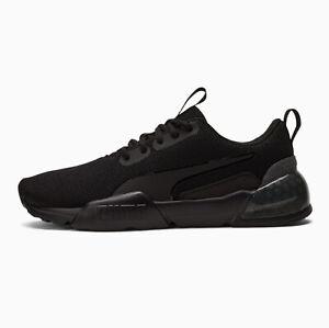 Puma Cell Vorto Mesh Men's Athletic Sneaker Running Training Shoe Black Trainers