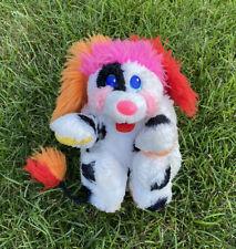 RARE Vintage 80s 1988 Mattel Puppy Dalmation Popples Plush Stuffed Animal