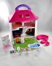 Hello Kitty Sanrio Light Up Dream House Figures Furniture Working Condition