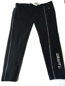 Craft Cycling Leg Warmers Black Thermo-cool Duo-regulation NEW Size XXL 2XL USA
