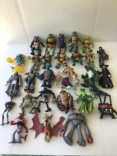 TMNT Playmates Lot Of 27, Heroes And Villians, Some Weapons