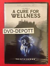 A Cure For Wellness DVD + Digital HD Brand New FAST Free Shipping