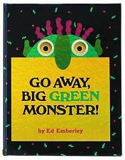 Go Away, Big Green Monster! by Ed Emberley (Hardback, 1993)