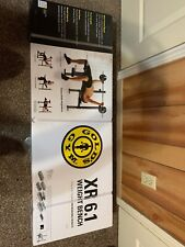 Brand New Golds Gym XR 6.1 Adjustable Weight Bench and Rack - Ready to ship ASAP