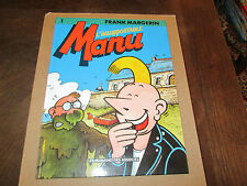 FRANK MARGERIN..MANU-L' INSUPPORTABLE.Tome 1. HUMANOIDES ASSOCIES 1994.eo .