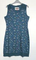 New Brakeburn Sail Boat print Summer Jersey Dress - Size 6 - 18