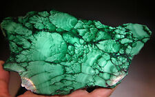 "7.35"" Natural Solid Green MALACHITE Slab Polished CRYSTAL Gemstone"
