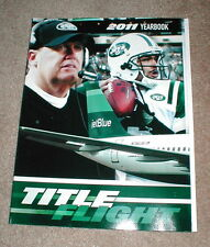 OFFICIAL 2011 NEW YORK JETS YEARBOOK 216 PAGES, PICTURES, STATS & MORE