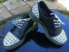 Dr. Martens 1461 Baxter black studded 3 eye Derby shoes UK 3 EU 36 RRP £125