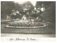 Belgique, Namur, Le Parc vintage silver print,  Tirage argentique  8x11  C