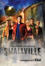 POSTER SMALLVILLE SUPERMAN  DVD SERIE 2 3 4 5 6 7 8 #4