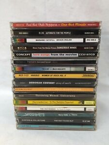 BULK LOT OF 16 CD's Inc Spiderbait, REM, Red Hot Chilli Peppers and More