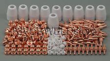 PT31 LG40 Plasma Electrodes Tips Nozzle Consumables Fit CUT40 CUT50 CT312 235pcs