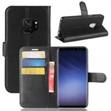 Samsung Galaxy S9 G960 Coque de protection Housse Pochette Wallet Case Noir