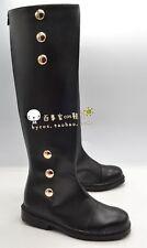 Owari no Seraph Mikaela Hyakuya Cos Schuhe Stiefel Boots PU Handarbeit Gr.38-46