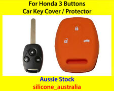 New Orange Silicone Car Key Cover for Honda Civic Accord CR-V Odyssey City Fit