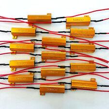 14x 50W 6 ohm Load Resistor Fix LED Bulb Fast Hyper Flash Turn Signal Blink