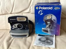 Rare New Polaroid Silver Onestep Express Pcam Instant 600 Camera-Ships ToDay