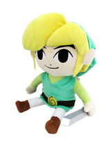 "Official Sanei Link 7"" Stuffed Plush - The Legend of Zelda The Wind Waker HD"
