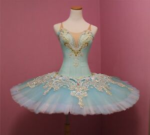 Ballet performance tutu -- Perfomance quality in Aqua green for Adult