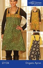 ORIGAMI APRON SEWING PATTERN, From Indygo Junction NEW