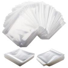 1000 x CD DVD Disc Sleeves Cover Storage Case Plastic Bag Envelope Wallets Flap