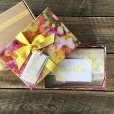 16 x Floral Gift Box - Packaging, wrapping, parcel, present